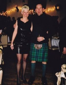 Scot and me in the old days