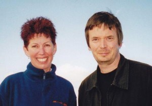 Ian and I in 2006