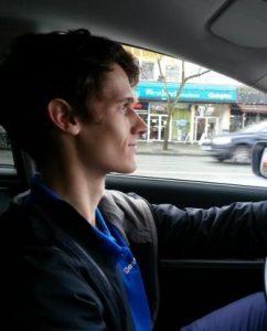 Julian was my chauffeur